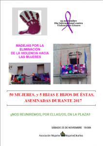 cartel Añorbe 2017